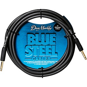 Dean Markley Blue Steel Cable, Straight/Right Angle by Dean Markley