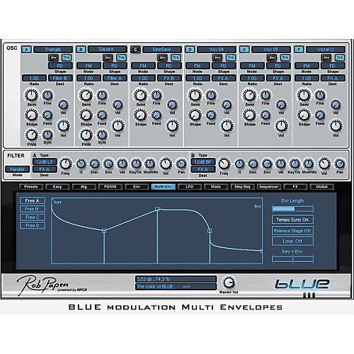 Rob Papen Blue Virtual Synth