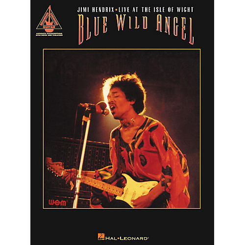 Hal Leonard Blue Wild Angel Jimi Hendrix Live at the Isle of Wight Guitar Tab Songbook-thumbnail