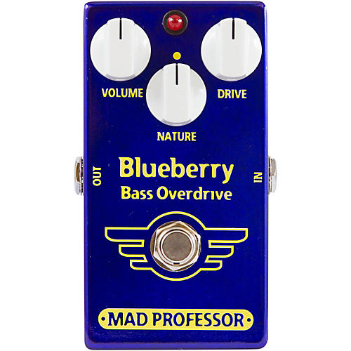 Mad Professor BlueBerry Bass Overdrive Guitar Effects Pedal-thumbnail