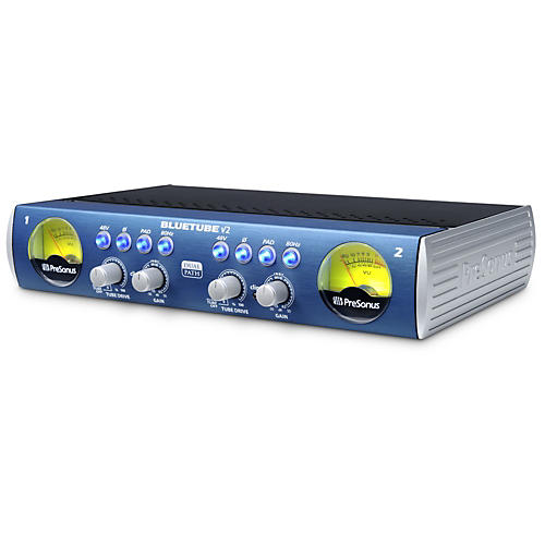 Presonus BlueTube DP V2 2-Channel Mic/Instrument Tube Preamp-thumbnail