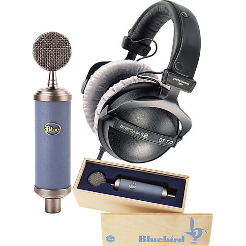 Blue Bluebird Mic and DT 770 PRO 80 Headphone Pack-thumbnail