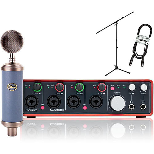 Blue Bluebird with Focusrite Scarlett 18i8 Package-thumbnail