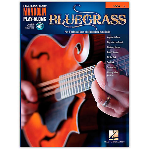 Hal Leonard Bluegrass - Mandolin Play-Along Volume 1 (Book/Online Audio)-thumbnail