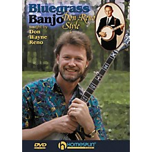 Homespun Bluegrass Banjo - Don Reno Style DVD/Instructional/Folk Instrmt Series DVD Performed by Don Reno