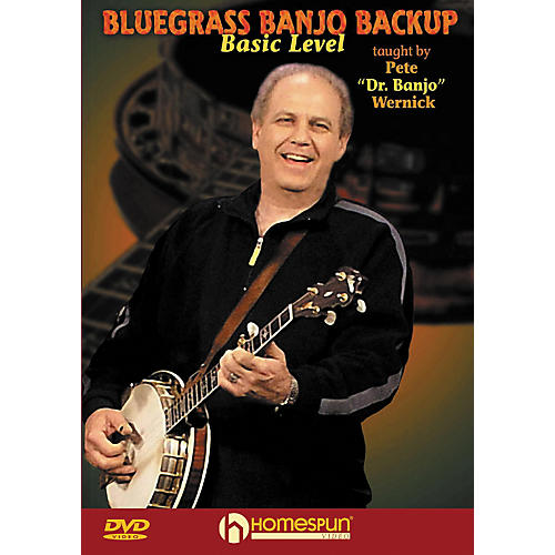 Homespun Bluegrass Banjo Backup for Beginners DVD-thumbnail