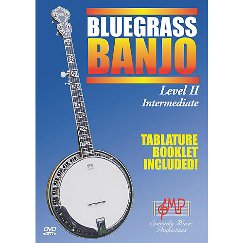 Specialty Music Productions Bluegrass Banjo Level II Intermediate (DVD)-thumbnail