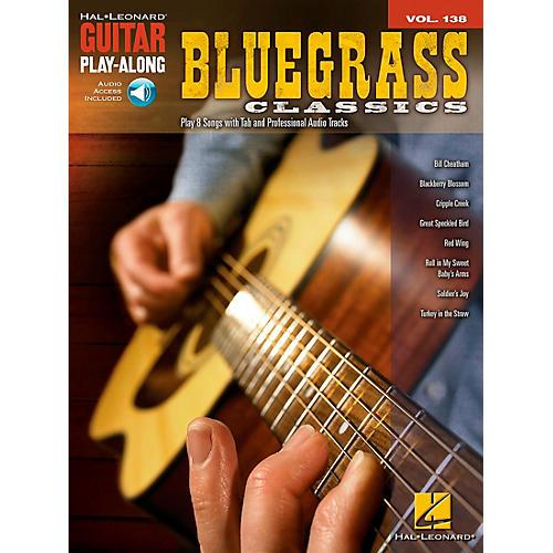 Hal Leonard Bluegrass Classics - Guitar Play-Along Volume 138 Book/CD