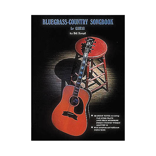 Hal Leonard Bluegrass Country Songbook for Guitar Book