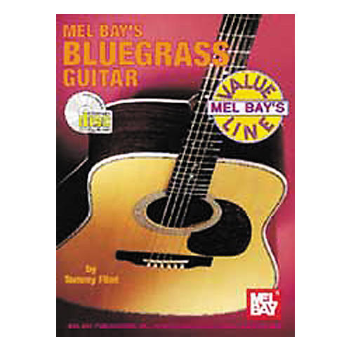 Mel Bay Bluegrass Guitar Book with CD