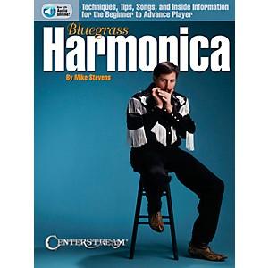Centerstream Publishing Bluegrass Harmonica Book/CD by Centerstream Publishing