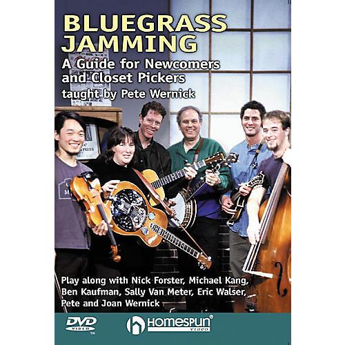 Homespun Bluegrass Jamming (DVD)-thumbnail