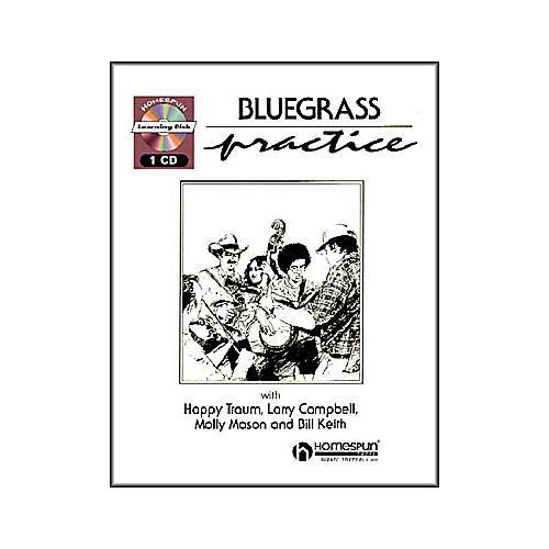 Homespun Bluegrass Practice Session (Book/CD)-thumbnail
