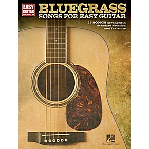 hal leonard bluegrass songs for easy guitar with tab guitar center. Black Bedroom Furniture Sets. Home Design Ideas