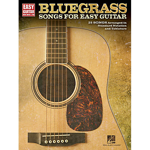 Hal Leonard Bluegrass Songs For Easy Guitar (With Tab)-thumbnail