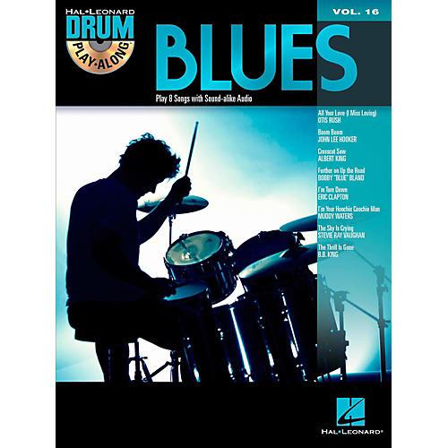 Hal Leonard Blues - Drum Play-Along Volume 16 Book/CD-thumbnail