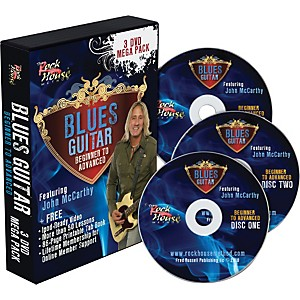 Rock House Blues 3 DVD Mega Pack by Rock House
