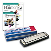 Hohner Blues Band 1501 C harmonica & Play Harmonica Today! Pack Kit