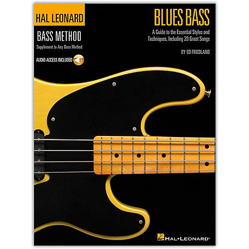 Hal Leonard Blues Bass - A Guide to the Essential Styleas and Techniques (Book/Online Audio)-thumbnail