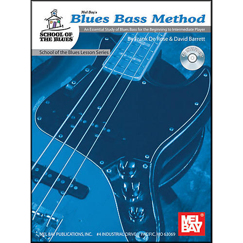 Mel Bay Blues Bass Method Level 1 Book and CD