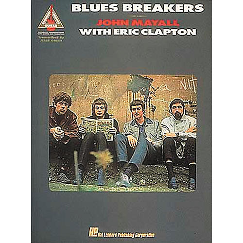 Hal Leonard Blues Breakers John Mayall with Eric Clapton Guitar Tab Songbook