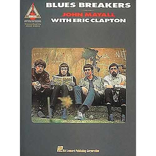 Hal Leonard Blues Breakers John Mayall with Eric Clapton Guitar Tab Songbook-thumbnail