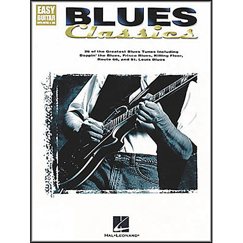 Hal Leonard Blues Classics Easy Guitar Tab Songbook-thumbnail
