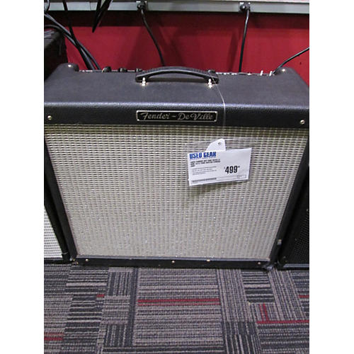 Fender Blues Deville 60W 4X10 Tweed Tube Guitar Combo Amp-thumbnail