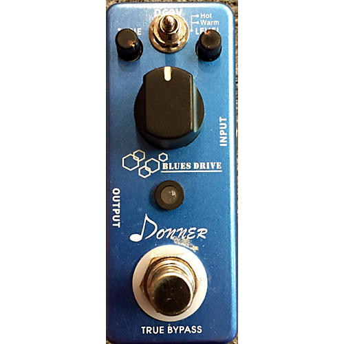 In Store Used Blues Drive Effect Pedal