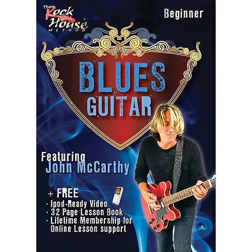 Rock House Blues Guitar Beginner Featuring John McCarthy DVD