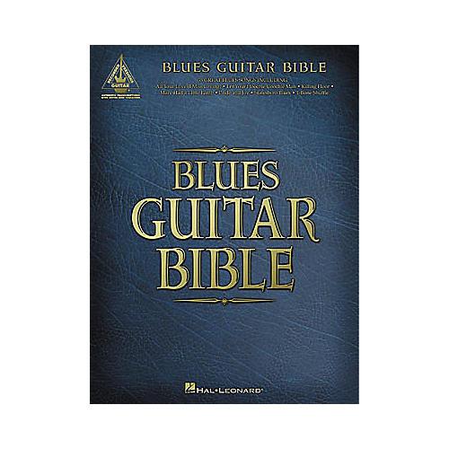 Hal Leonard Blues Guitar Bible Tab Book-thumbnail