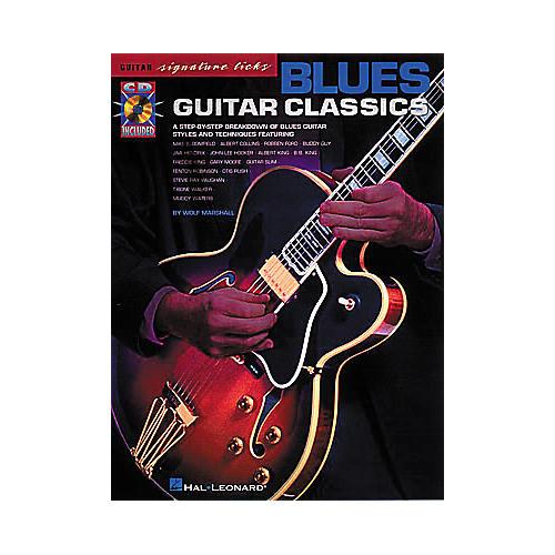 Hal Leonard Blues Guitar Classics (Book/CD)-thumbnail