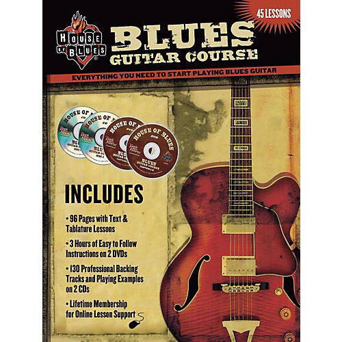 House of Blues Blues Guitar Course (2-DVD/2-CD Set)