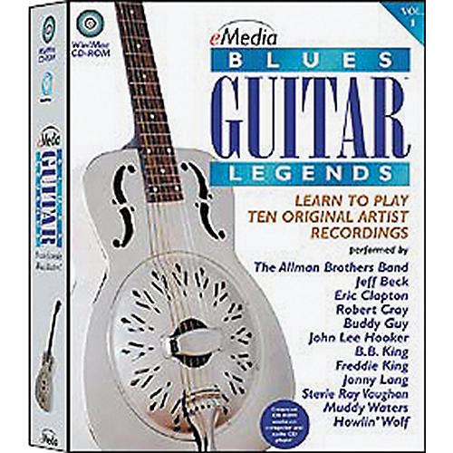 Emedia Blues Guitar Legends Vol 1 (CD-ROM)-thumbnail