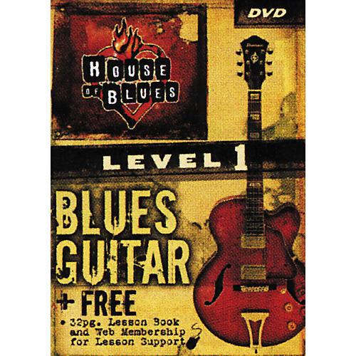 Rock House Blues Guitar Level 1 (DVD)