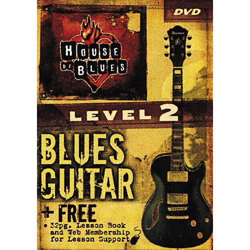 Hal Leonard Blues Guitar Level 2 (DVD)-thumbnail