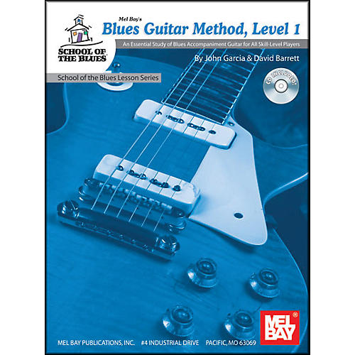 Mel Bay Blues Guitar Method, Level 1 Book and CD-thumbnail