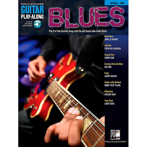 Hal Leonard Blues Guitar Play-Along Volume 38 Book with CD-thumbnail