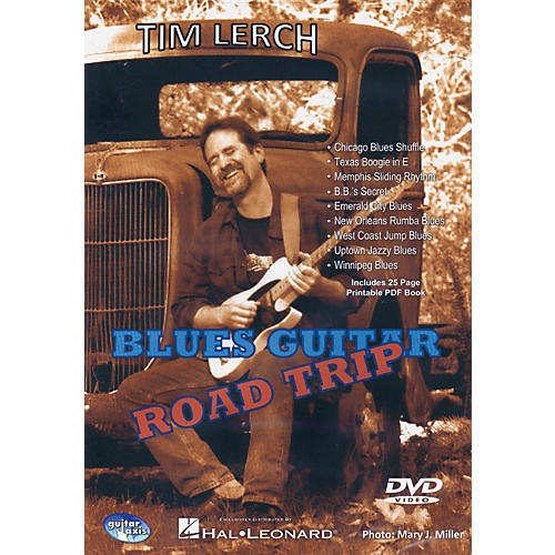 Hal Leonard Blues Guitar Road Trip - DVD