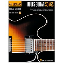 Hal Leonard Blues Guitar Songs Method Suppliment Songbook with Online Audio