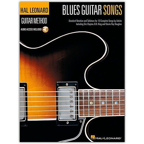 Hal Leonard Blues Guitar Songs Method Suppliment Songbook with Online Audio-thumbnail