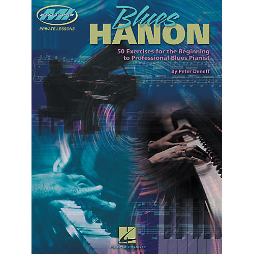 Hal Leonard Blues Hanon Keyboard Book