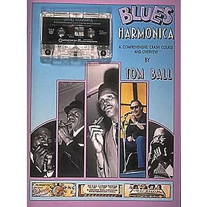 Centerstream Publishing Blues Harmonica Book/CD by Centerstream Publishing