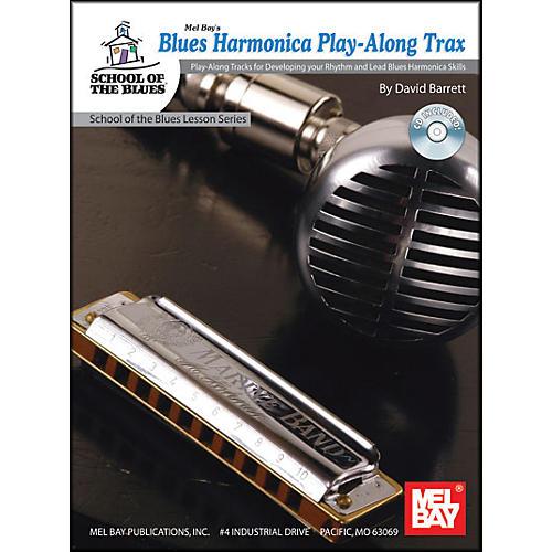 Mel Bay Blues Harmonica Play-Along Trax Book and CD-thumbnail