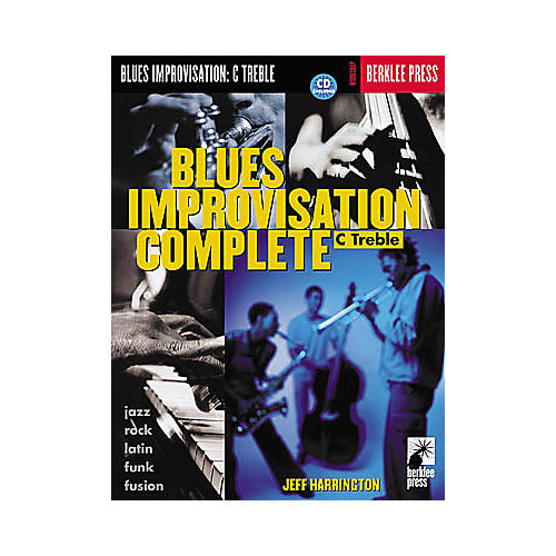 Hal Leonard Blues Improvisation Complete (C Treble Instruments) Book/CD
