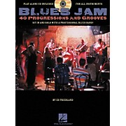 Hal Leonard Blues Jam 40 Progressions & Grooves (Book/CD)