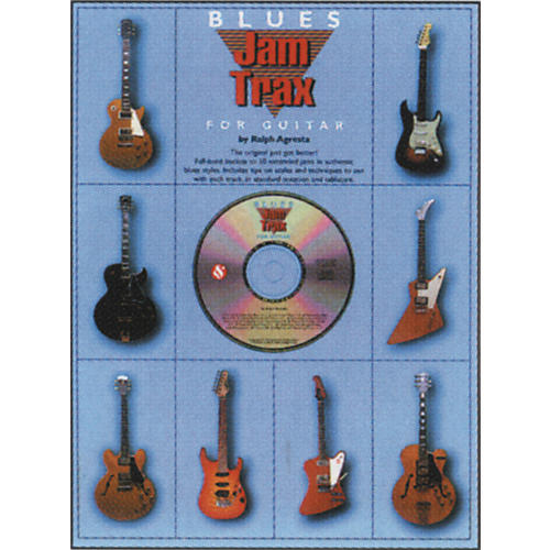 Music Sales Blues Jam Trax for Guitar CD-thumbnail