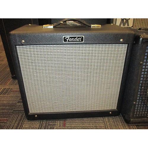 Fender Blues Jr 15W 1X12 Tube Guitar Combo Amp-thumbnail