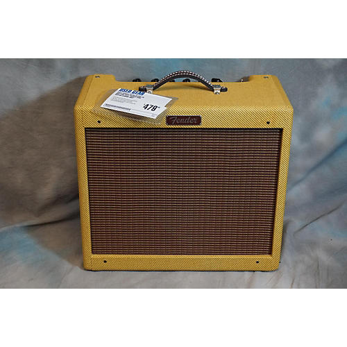 Fender Blues Jr NOS 15W 1X12 Tweed Tube Guitar Combo Amp-thumbnail