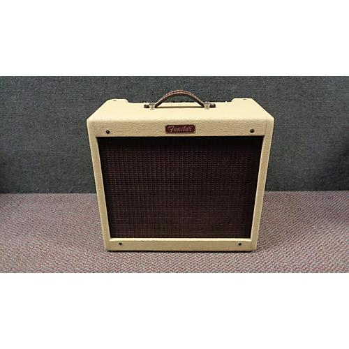 Fender Blues Junior 15W 1x12 Brown Tube Guitar Combo Amp-thumbnail